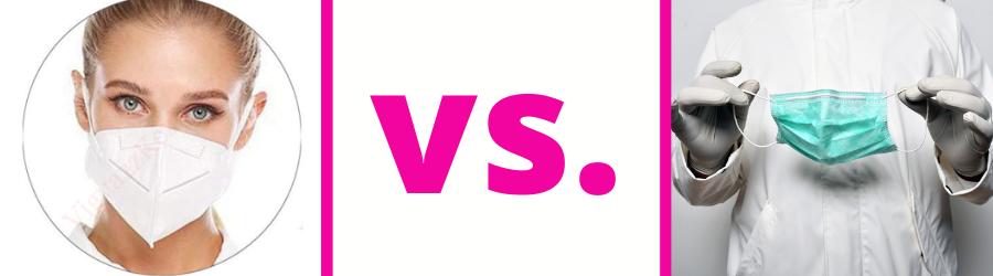 FFP 2 maszk vs. orvosi maszk - Vigyázz Kéz Kesztyű